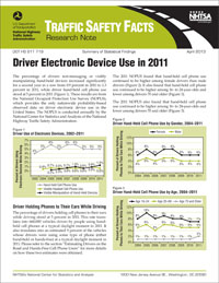 Driver Electronic Device Use in 2011