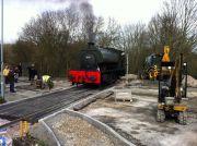 LXinfoImage1140-Tingle Wood Lane level crossing, Elsecar Heritage Railway