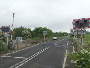 Balnamore AHB level crossing. Source: RAIB
