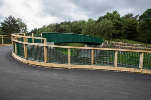 Moors Gorse replacement bridge: source Network Rail